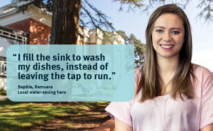 water saving tips from a local hero