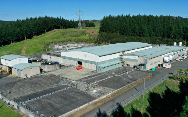 Waikato Water Treatment Plant