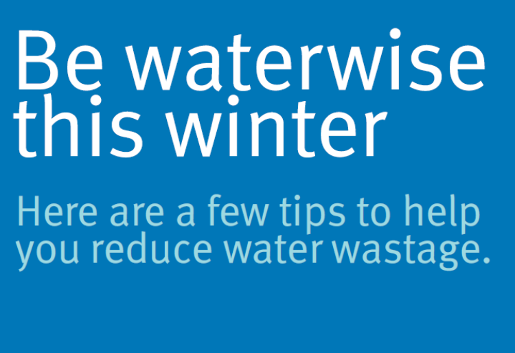 Be waterwise this winter