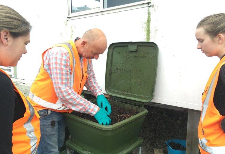Rob Tinholt senior wastewater treatment planner