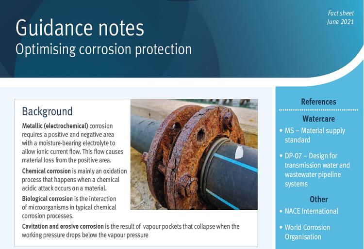 Optimising corrosion protection