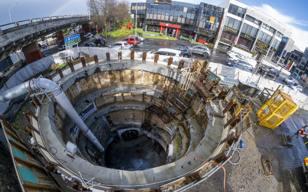 New pipejacking record set on Auckland watermain project