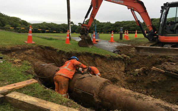 Water pressure to return to normal in central-west Auckland