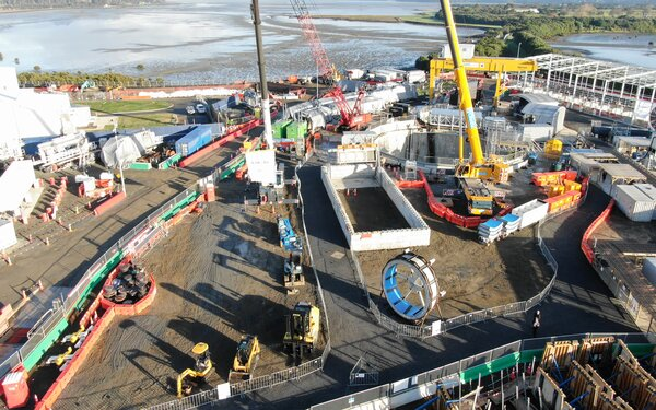 Infrastructure projects rev up for level 3
