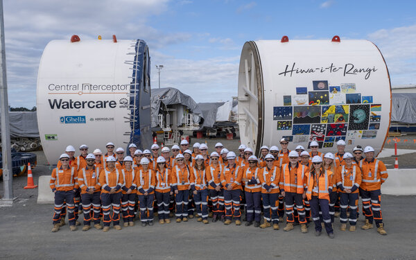 Giant tunnel boring machine starts digging Watercare's $1.2B Central Interceptor