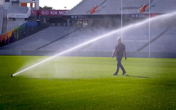 Eden Park gets helping hand to save 16 million litres of tap water per year