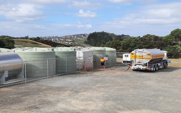 New private bore opens in Orewa to help water tanker drivers in northern Auckland