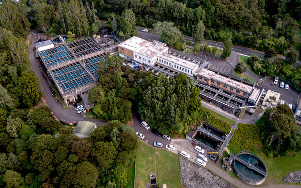 Huia Water Treatment Plant granted resource consent