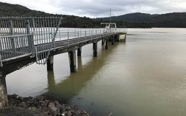 Downpours in west Auckland see spike in dam levels