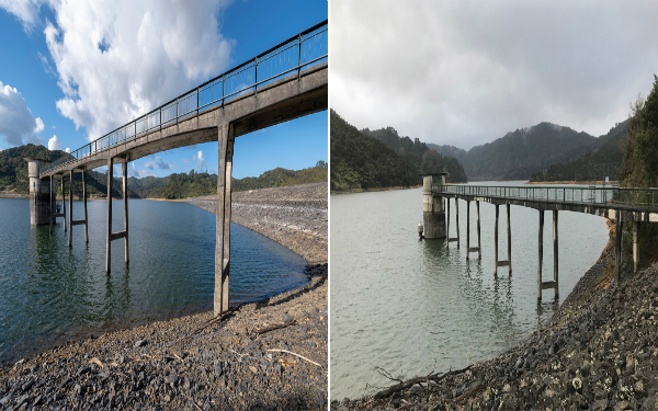 Thank you, Auckland - our total water storage has reached 80 per cent