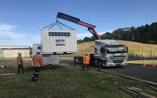 Mobile water treatment unit sent to help drought-stricken Northland