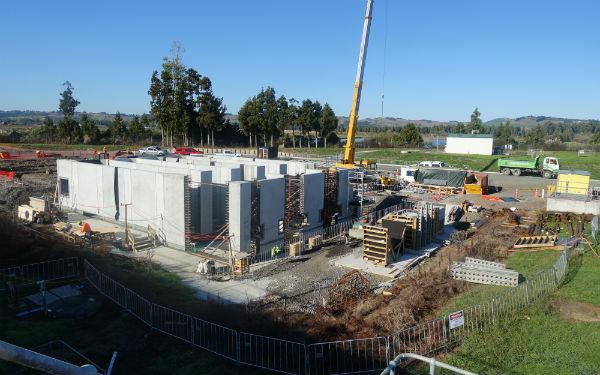 Pukekohe Wastewater Treatment Plant expansion flies along