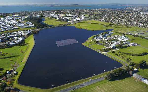 Joining forces to build New Zealand's first floating solar array