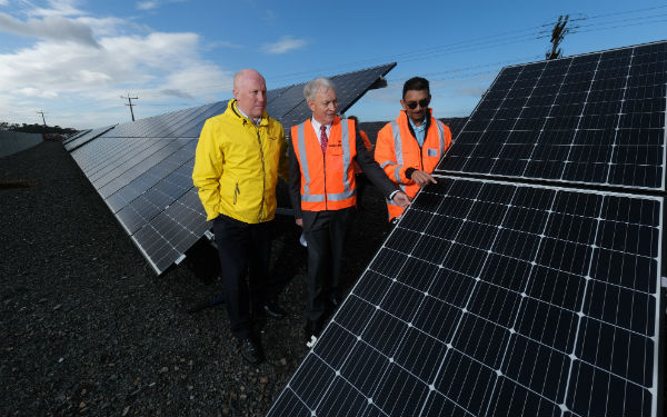 Pukekohe Wastewater Treatment Plant receives solar energy boost