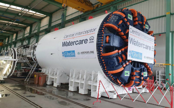 Our Central Interceptor Tunnel Boring Machine has passed its Factory Acceptance Test