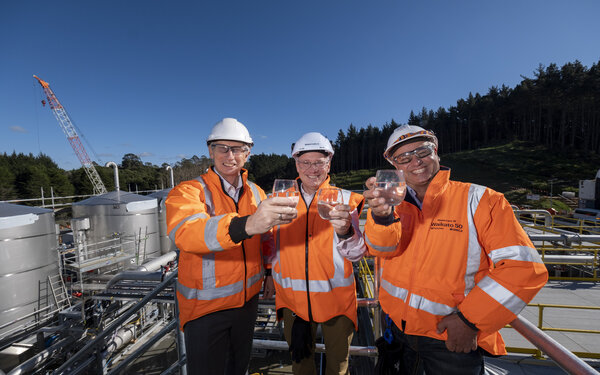 New water treatment plant near Tuakau about to go live