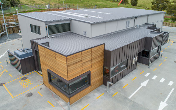Warkworth's new water treatment plant opens its doors for first time
