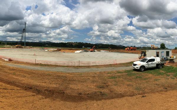 New reservoirs in Pukekohe under way